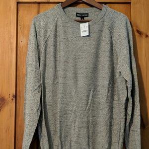 Men's Jcrew Large Grey Sweater